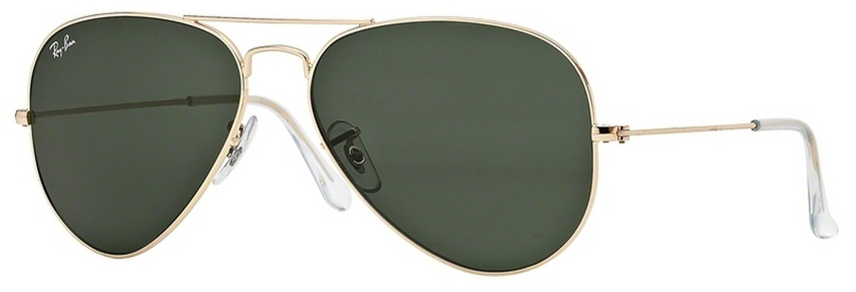 c3731c02da5 ... sale ray ban rb3025 aviator large metal gold w grey green lenses. gold  w grey