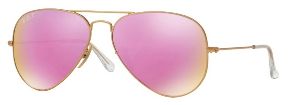 2f0ccdc25 ray ban aviator flash lenses pink mirror rb3025; matte gold with polarized  brown mirror fucsia lenses. ray ban rb3025 aviator large