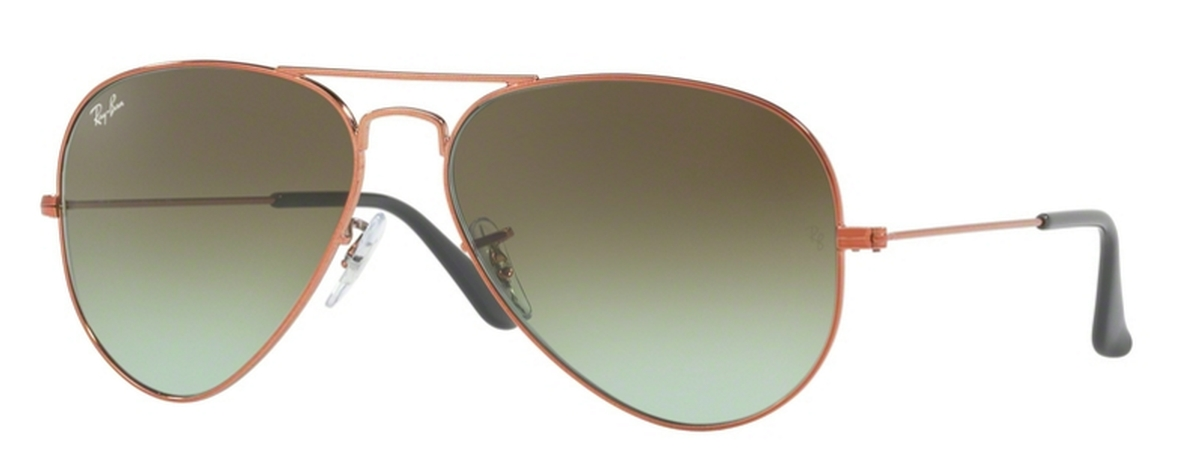 174a06ee8 Shiny Medium Bronze with Green Gradient Brown Lenses
