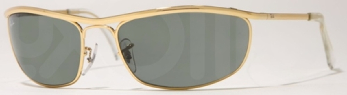 e996452776 Ray Ban RB3119 OLYMPIAN Arista with Crystal Green Lenses. Arista with  Crystal Green Lenses