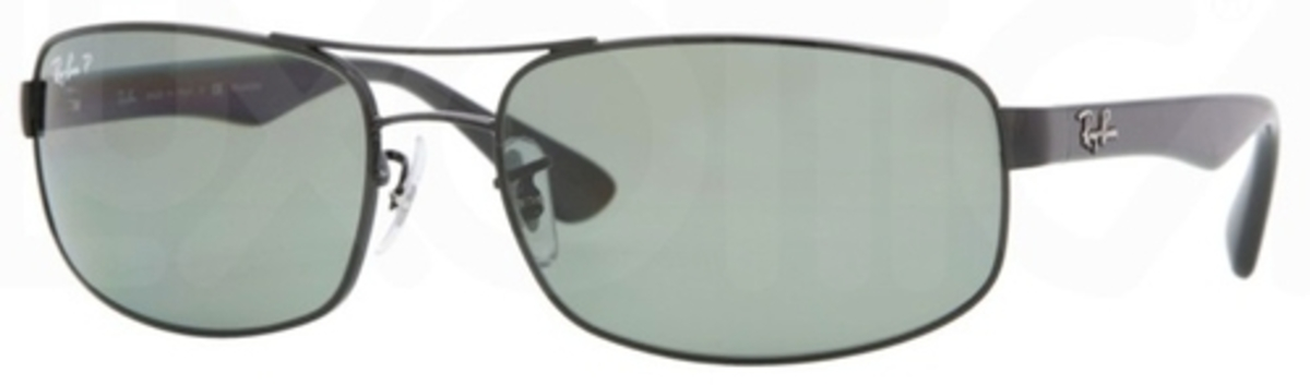 cc499d743aeb6 Black w  Polarized Crystal Green Lenses 002 58 · Ray Ban RB3445 Gunmetal w   Crystal Green Lenses 004