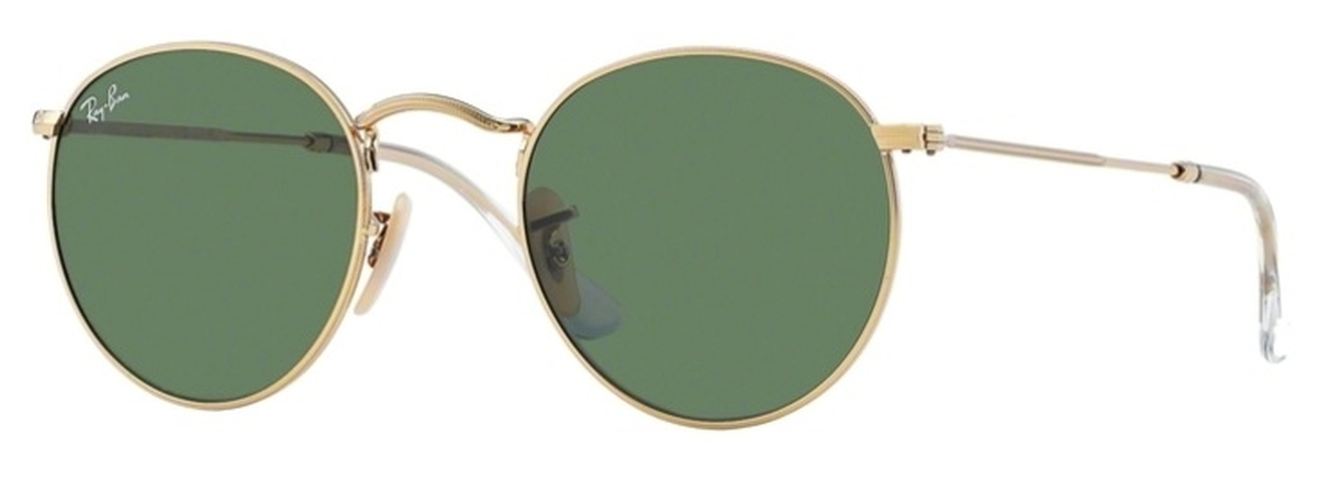 58f80fbd31 Arista Gold with Crystal Green Lenses · Ray Ban ...