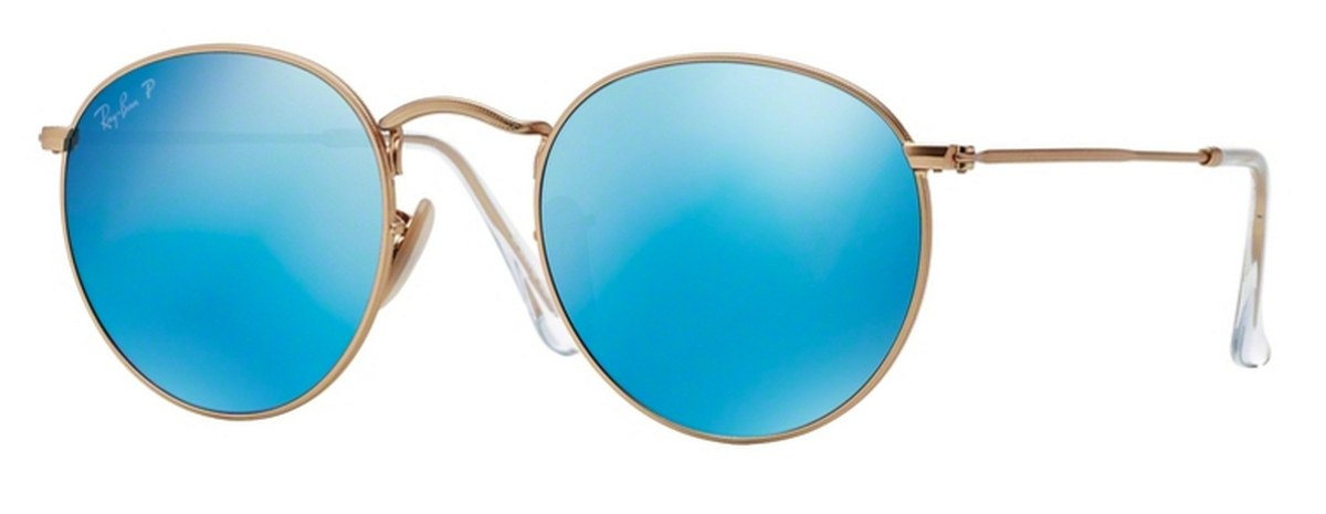 501dee59796 Ray Ban RB3447 Round Metal. Double tap to zoom