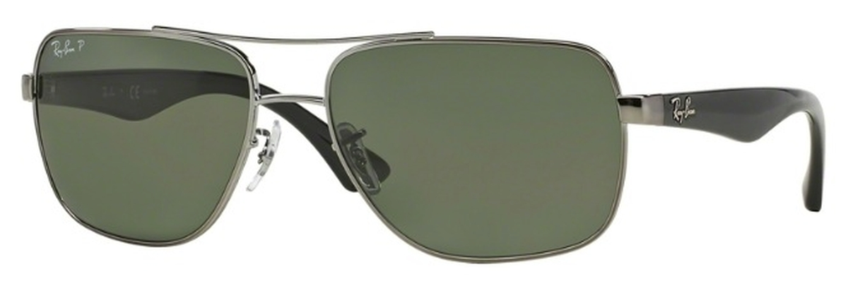 eebc34b078 Arista Gold with Crystal Brown Gradient Lenses. Ray Ban RB3483 Gunmetal  with Polarized Green Lenses. Gunmetal with Polarized Green Lenses