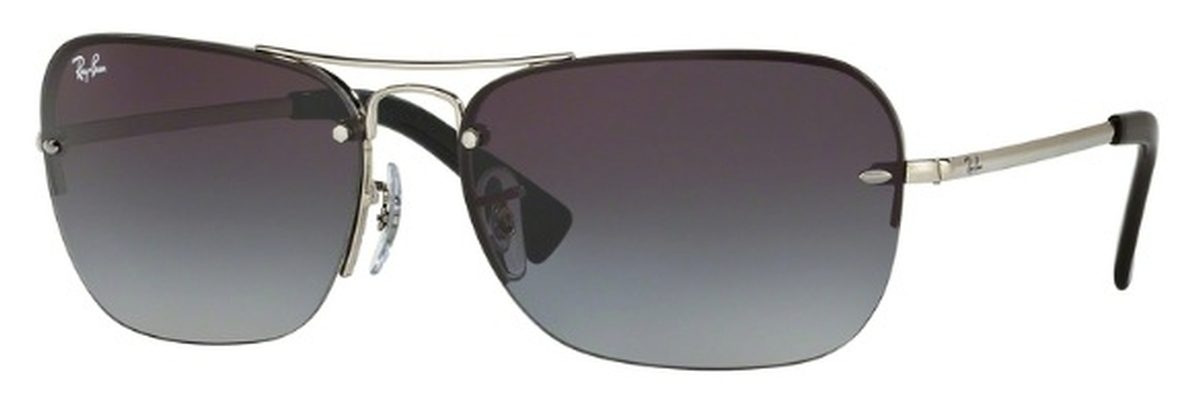 b058bbc3e6 Ray Ban RB3541 Silver with Gray Gradient Lenses. Silver with Gray Gradient  Lenses