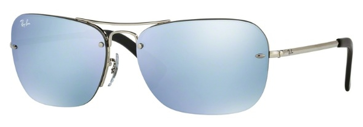 8c5ef7b3df Ray Ban RB3541 Silver with Green Mirror Silver Lenses. Silver with Green  Mirror Silver Lenses