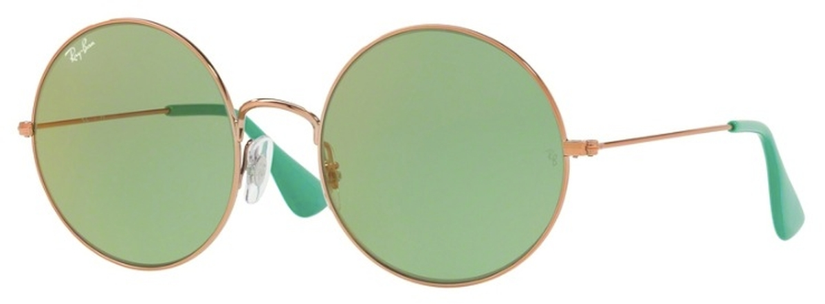 b0cf83b61 Shiny Copper with Light Green Lenses
