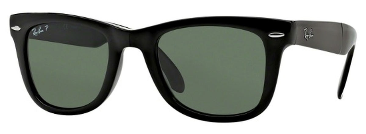 68eab2fffbfe3 Black w  Crystal Green Polarized Lenses. Ray Ban ...