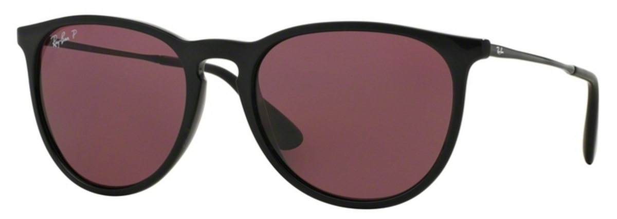 19bb06d401 Ray Ban RB4171 Erika Black w  POLAR Purple Lenses. Black w  POLAR Purple  Lenses