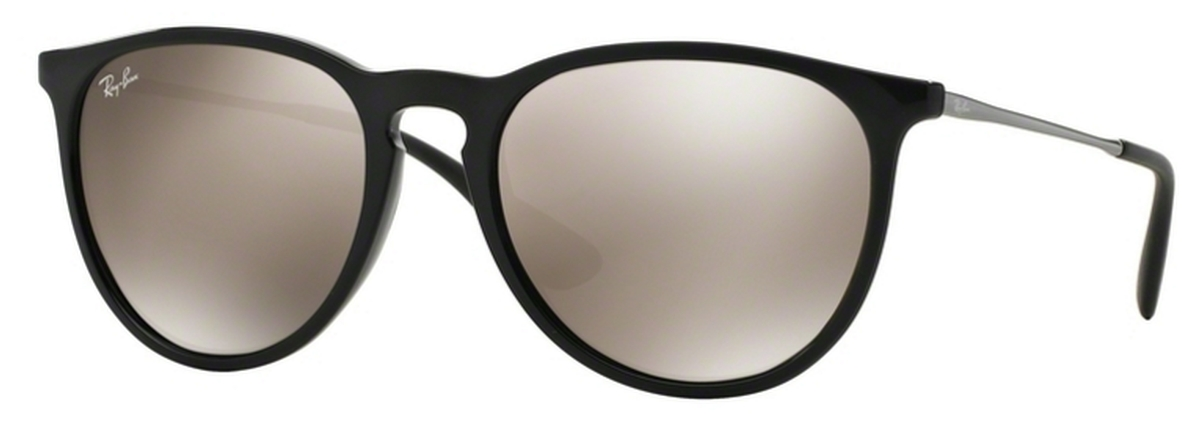 a2ebb56383 Ray Ban RB4171 Erika Black with Light Brown Mirror Gold Lenses. Black with  Light Brown Mirror Gold Lenses