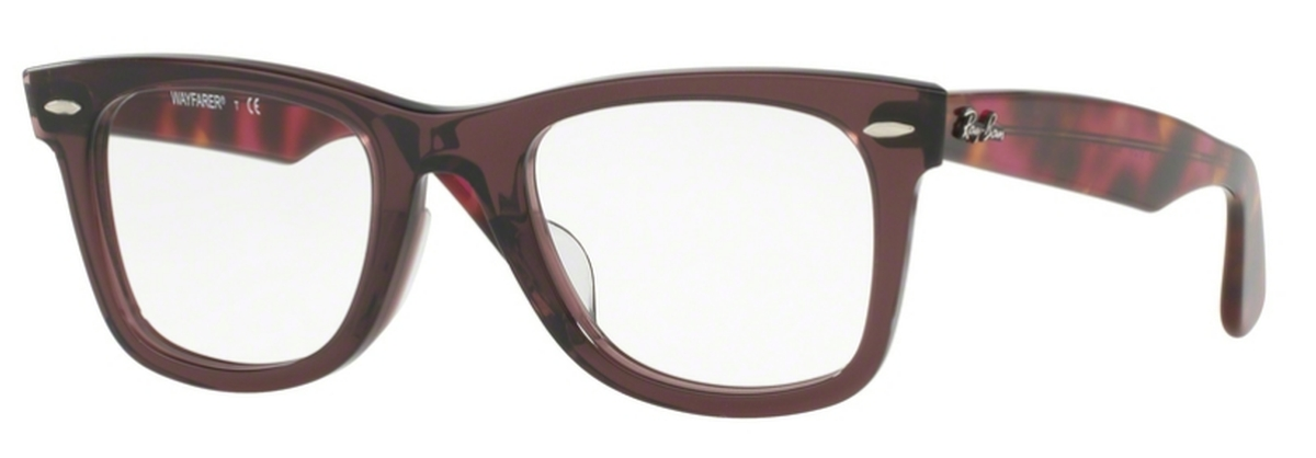 72a3b42bd38f Ray Ban Glasses RX5121F Wayfarer Eyeglasses Frames