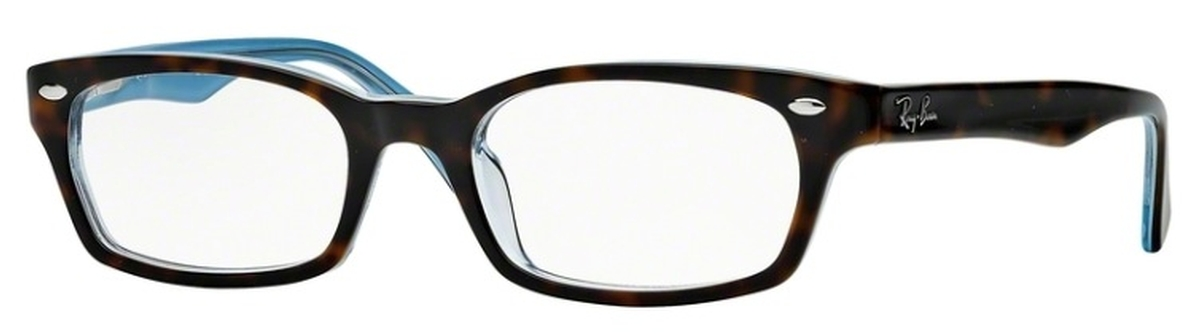 498c3083fbd Ray Ban Glasses RX5150 Top Havana on Transparent Azure. Top Havana on  Transparent Azure