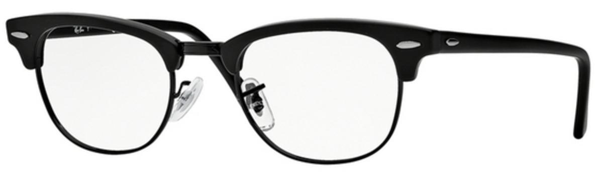Ray Ban Glasses RX5154 Clubmaster Matte Black 2077. Matte Black 2077