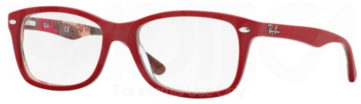 red ray ban glasses  Ray Ban Glasses RX5228 Eyeglasses Frames