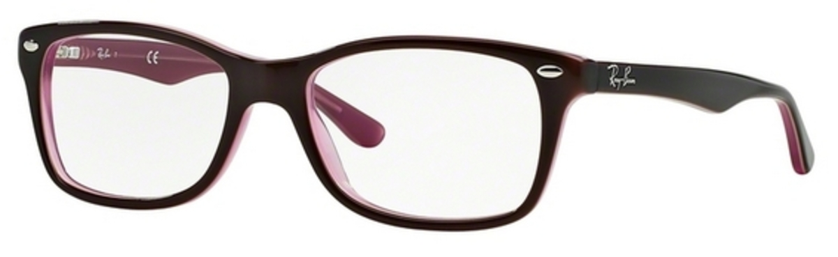 e9483cb9b6e Ray Ban Glasses RX5228 Brown Pink. Brown Pink