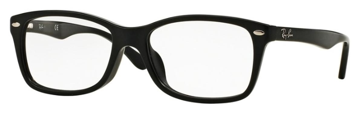 2c945937c0491 Ray Ban Glasses RX5228F Asian Fit Shiny Black. Shiny Black