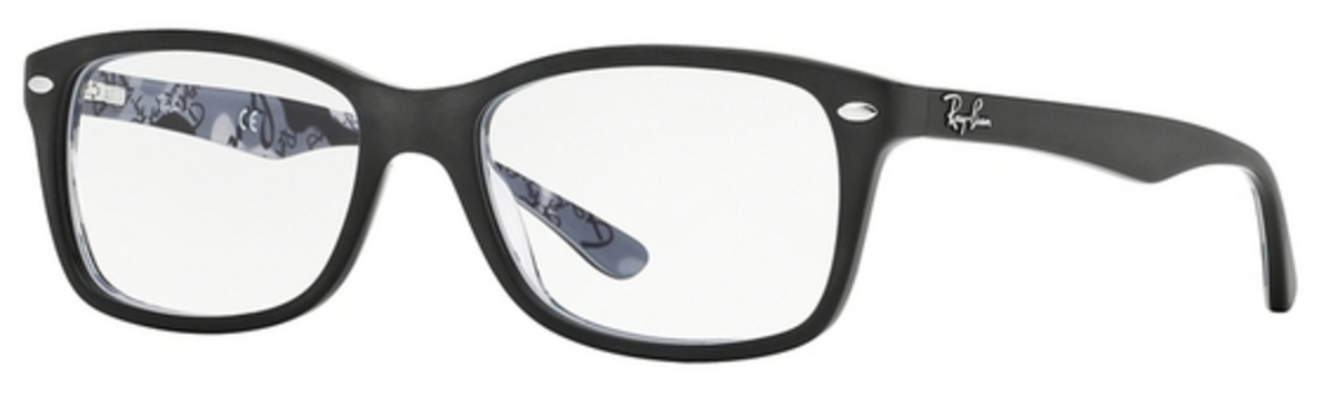 679c1b0330 Ray Ban Glasses RX5228 Top Mat Black on Texture Camuflage. Top Mat Black on  Texture Camuflage