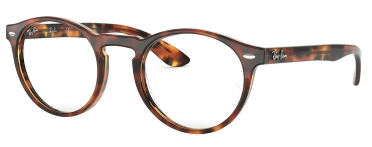 3c949efcf2d Ray Ban Glasses RX5283 Top Havana Brown Yellow. Top Havana Brown Yellow