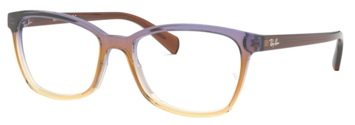 3ee5f3bd0ec2c Ray Ban Glasses RX5362 Tri-Gradient Brown Violet Yellow. Tri-Gradient  Brown Violet Yellow