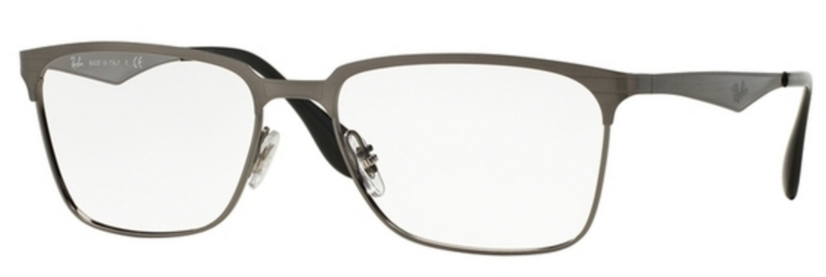 RX 6344 Eyeglasses Brushed Gunmetal
