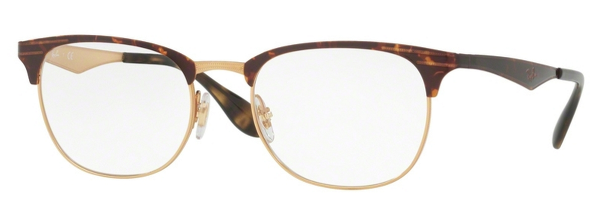 b212d2abdc Ray Ban Glasses RX6346 Gold Havana. Gold Havana
