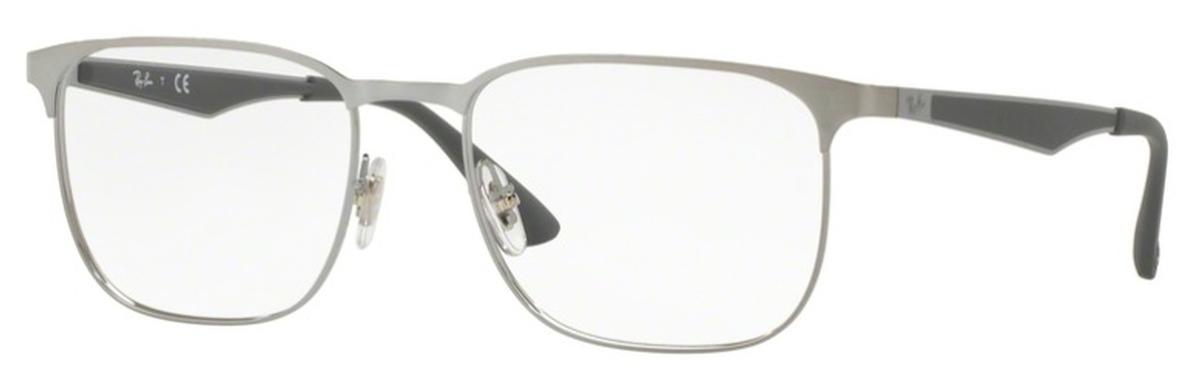 0f08f6bdae Ray Ban Glasses RX6363 Gunmetal Top on Brushed Gunmetal. Gunmetal Top on  Brushed Gunmetal