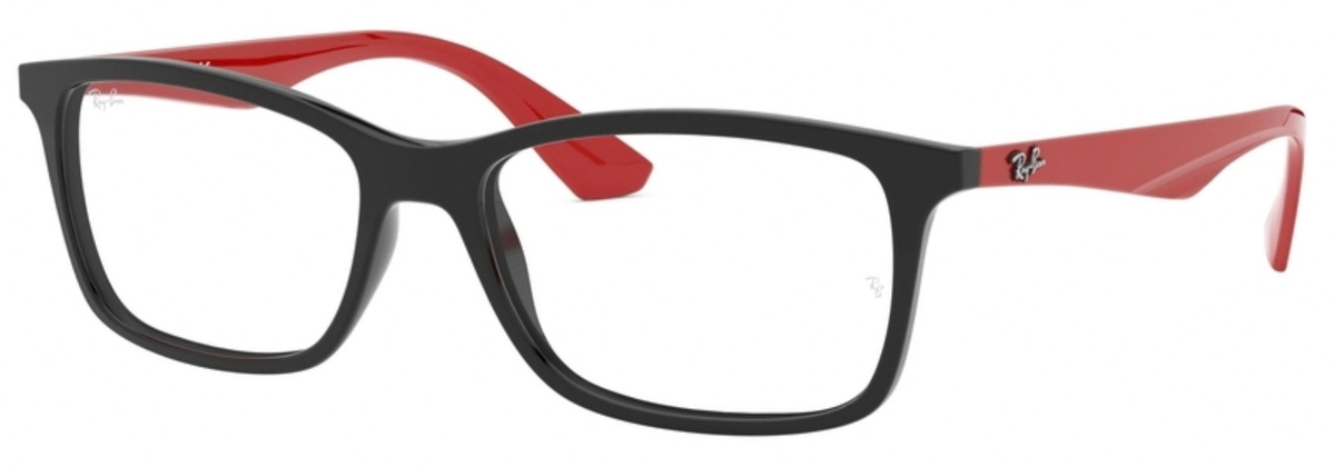 1f30d6f0d3ea2 Ray Ban Glasses RX7047 Black Red. Black Red