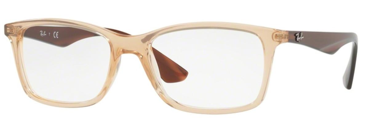 fa93a7c9c01 Ray Ban Glasses RX7047 Transparent Beige. Transparent Beige