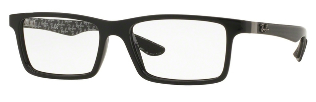 fd40c03c895e7 Ray Ban Glasses RX8901 Top Black On Shiny Grey. Top Black On Shiny Grey