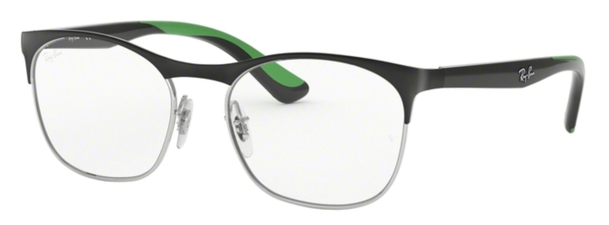 8e0115b6c0 Ray Ban Junior RY1054 Silver on Top Matte Black. Silver on Top Matte Black