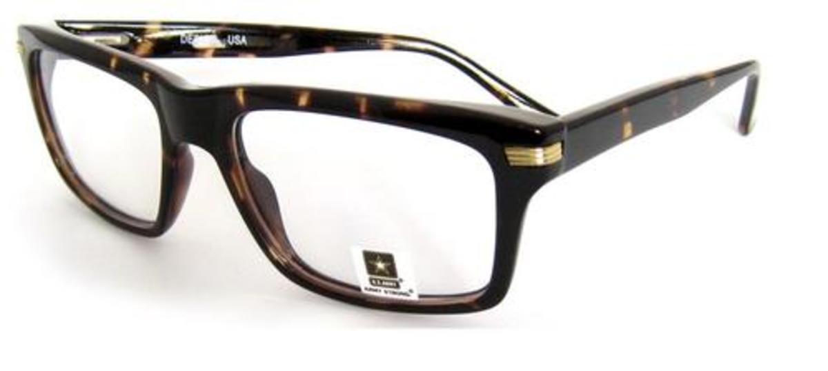 U S Army Alpha Eyeglasses Frames
