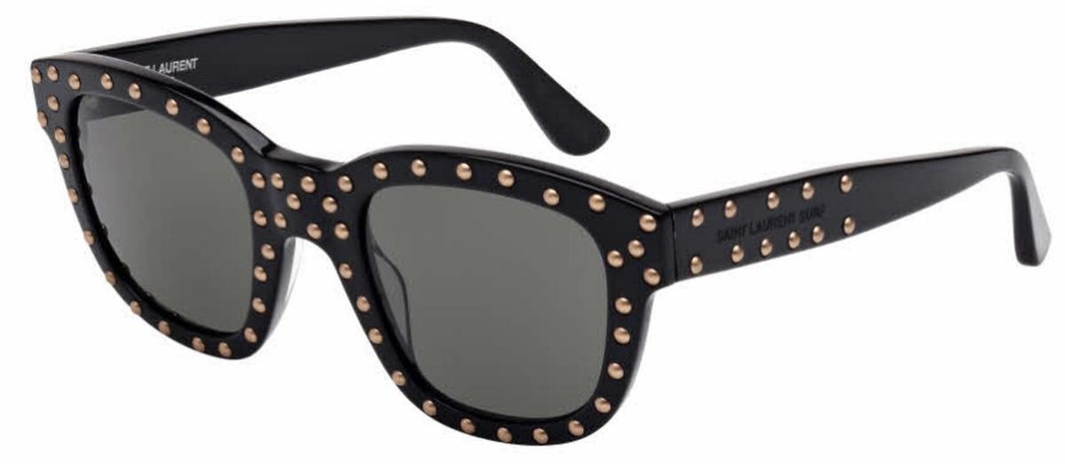 SL 100 Sunglasses Black With Smoke Lenses