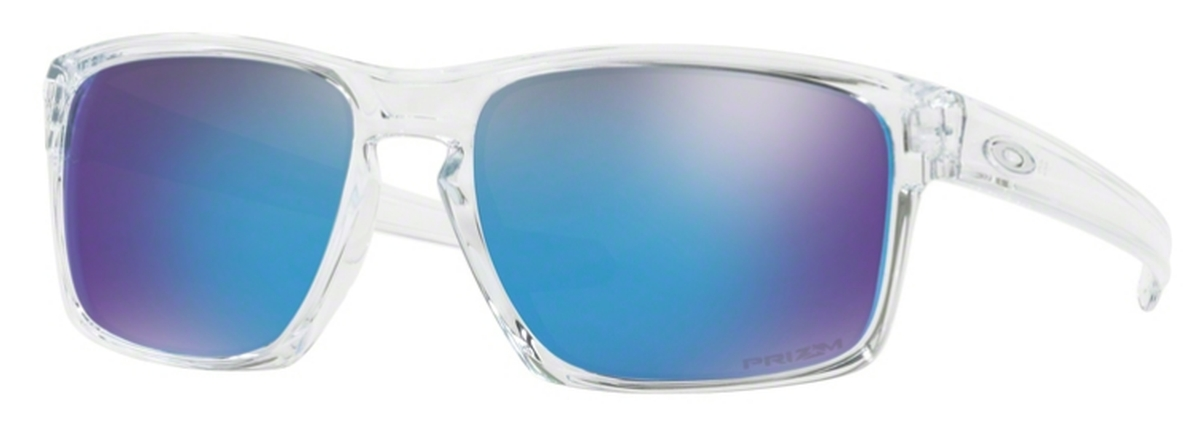91815f4f708d3 Oakley Sliver OO9262 47 Polished Clear   Prizm Sapphire. 47 Polished Clear    Prizm Sapphire