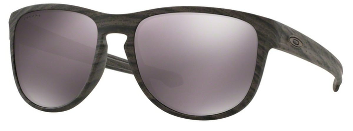 16c6ae957a1 11 Woodgrain with Prizm Daily Polarized Lenses. Oakley Sliver R OO9342 12  Polished Black with Polarized ...