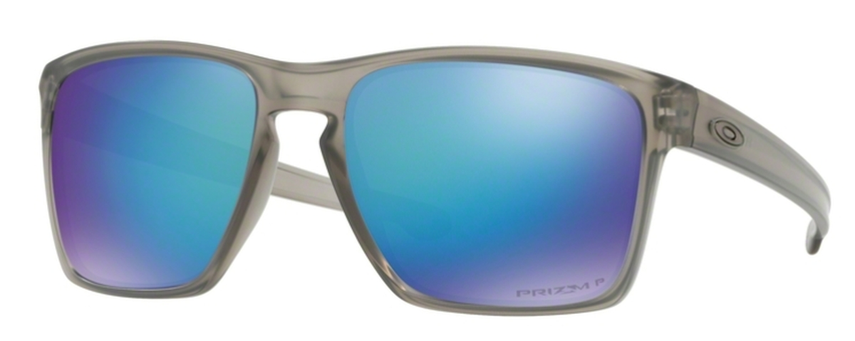 bac7e95d3c5 18 Matte Grey Ink with Prizm Sapphire Polarized · Oakley Sliver XL OO9341  19 Polished Black with ...