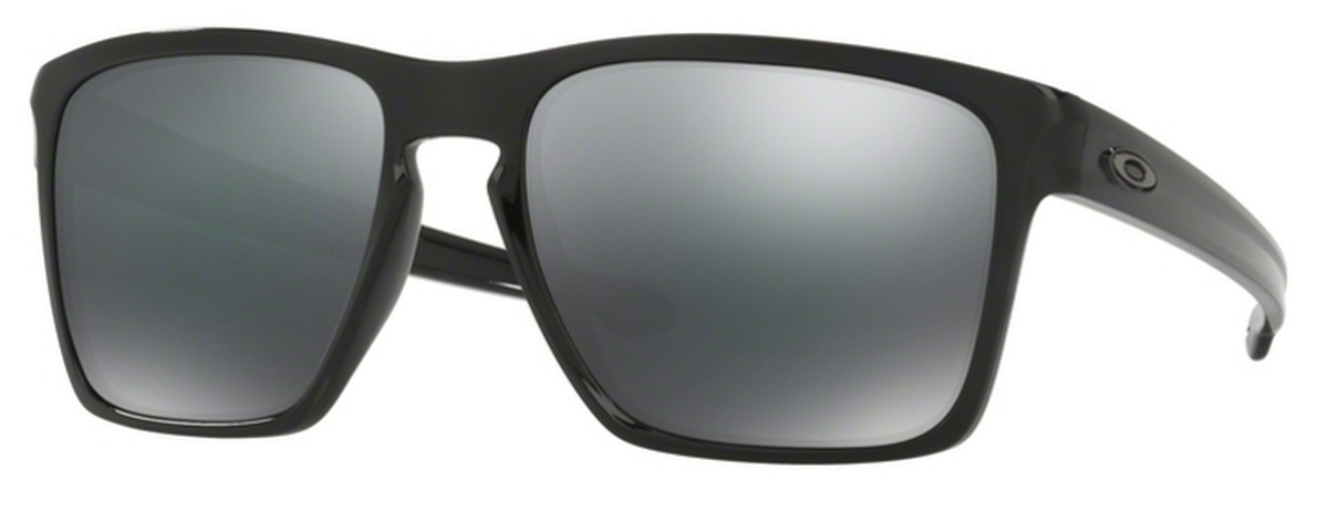 5c46f13b39da5 05 Polished Black with Black Iridium Lenses. Oakley Sliver XL OO9341 12  Polished Black with Polarized ...