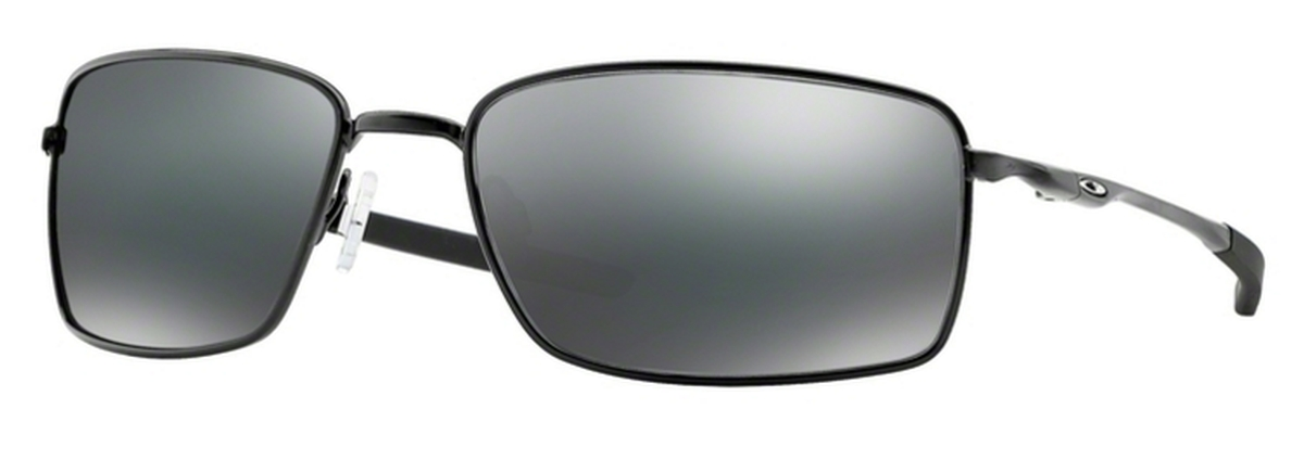 6e93bc2d17 Oakley Square Wire OO4075 01 Polished Black   Black Iridium. 01 Polished  Black   Black Iridium