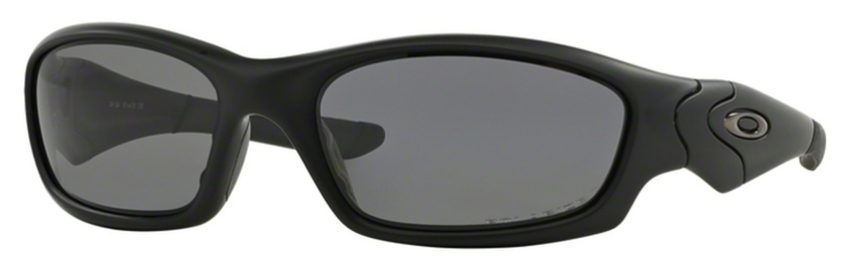 a5d612b4bbe Matte Black with Polarized Grey Lenses 24-124