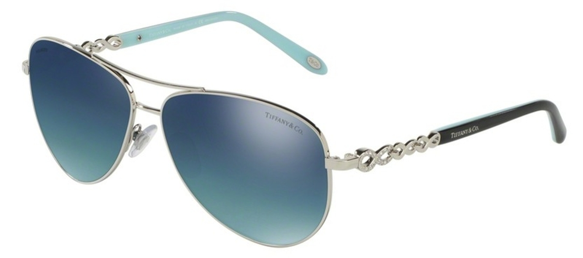a588a2ab7ca7 Silver with Polarized Light Blue Gradient Silver Mirror Lenses