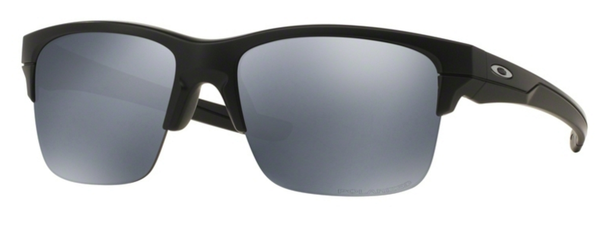 2adb7b03e9 Matte Black w  Black Iridium Polarized Lenses. Oakley Thinlink (Asian Fit)  OO9317 Matte Black ...