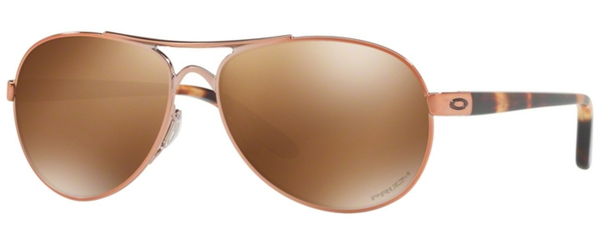 45280e21ef Oakley Tie Breaker OO4108 17 Rose Gold with Prizm Tungsten Polarized  Lenses. 17 Rose Gold with Prizm Tungsten Polarized Lenses