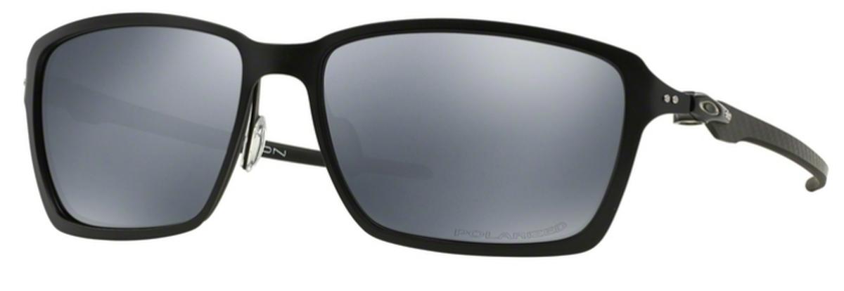 b20a422a47 Oakley Tincan Carbon OO6017 Satin Black with Black Iridium POLARIZED Lenses.  Satin Black with Black Iridium POLARIZED Lenses