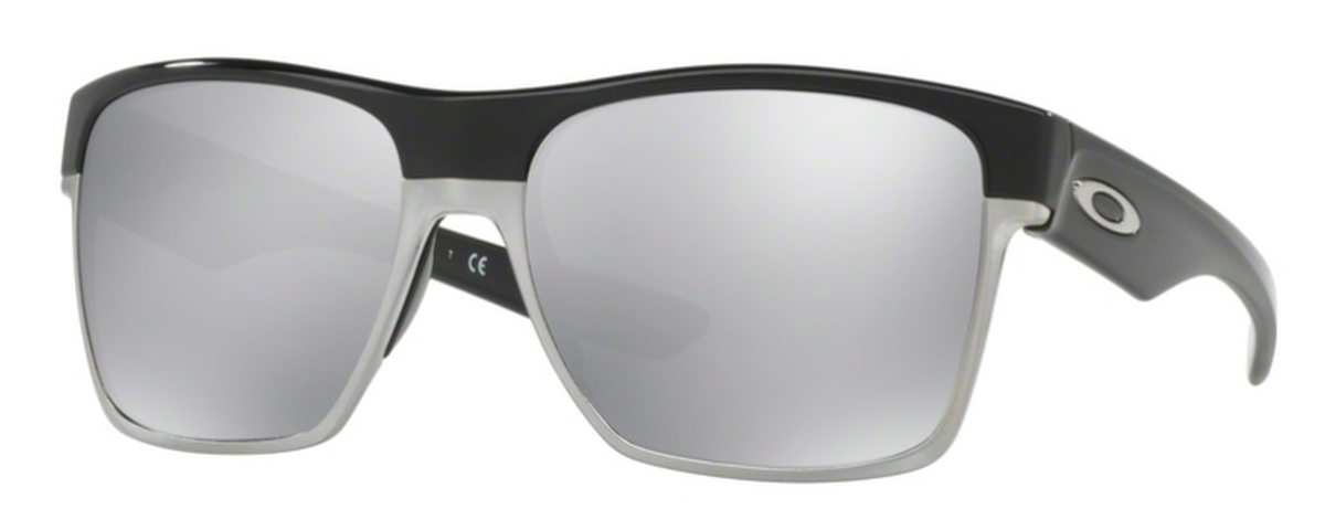 0d3d305b16d 07 Polished Black with Chrome Iridium. Oakley Two Face XL OO9350 09 Matte  Black with Prizm Sapphire Polarized Lenses
