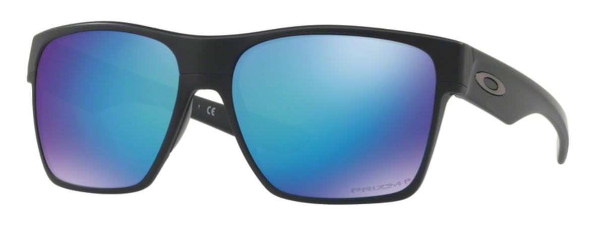 6f6b390b75a 09 Matte Black with Prizm Sapphire Polarized Lenses. Oakley Two Face XL  OO9350 10 Matte Black ...