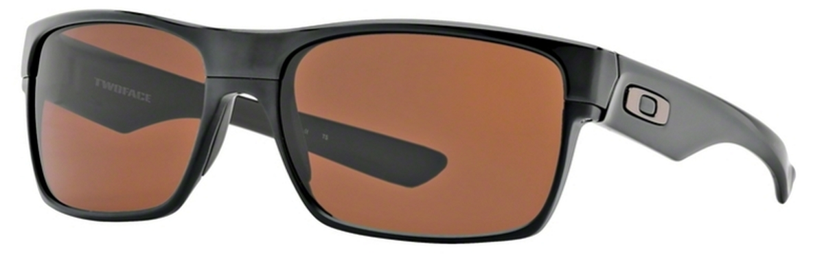 6086cf193f Oakley Two Face OO9189 03 Polished Black   Dark Bronze. 03 Polished Black    Dark Bronze