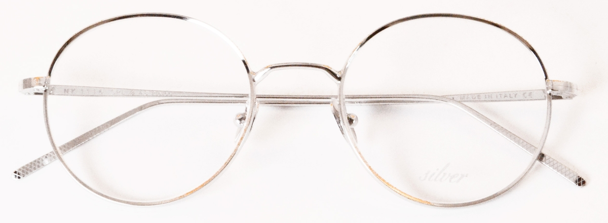 Dolomiti Eyewear ZNK1116 with 24Kt White Gold Eyeglasses