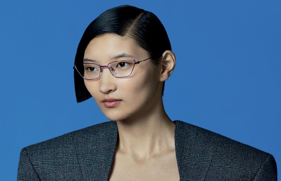 Balenciaga Cat Eye Glasses