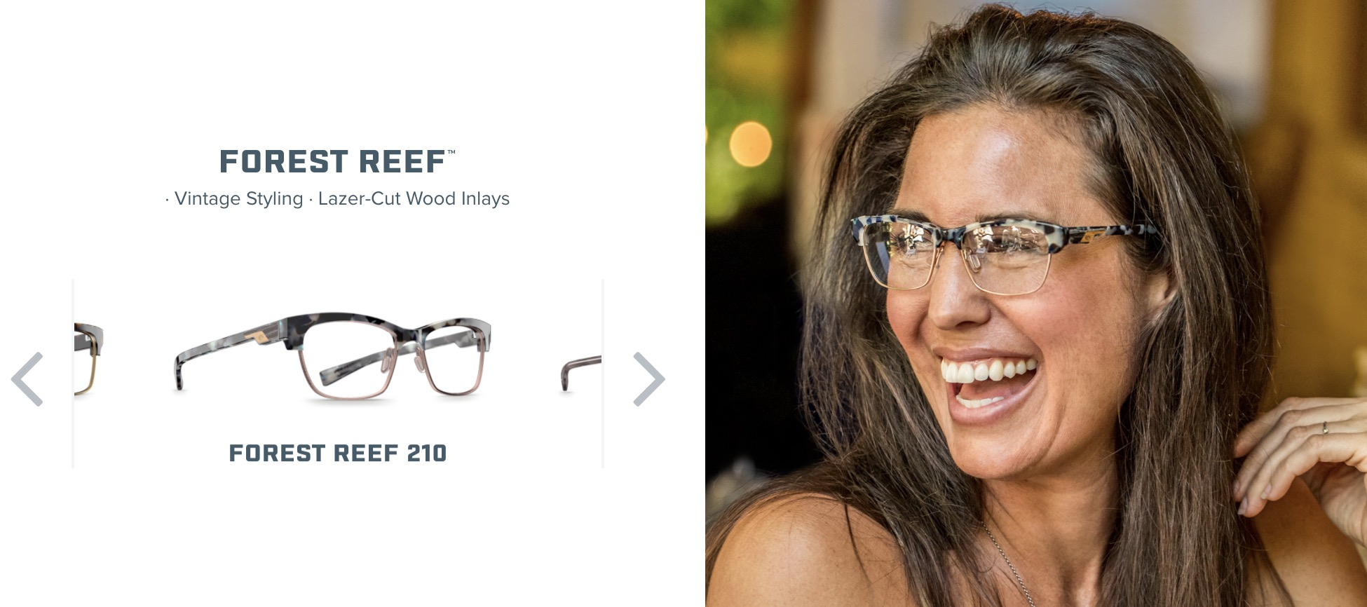 Costa Forest Reef Glasses