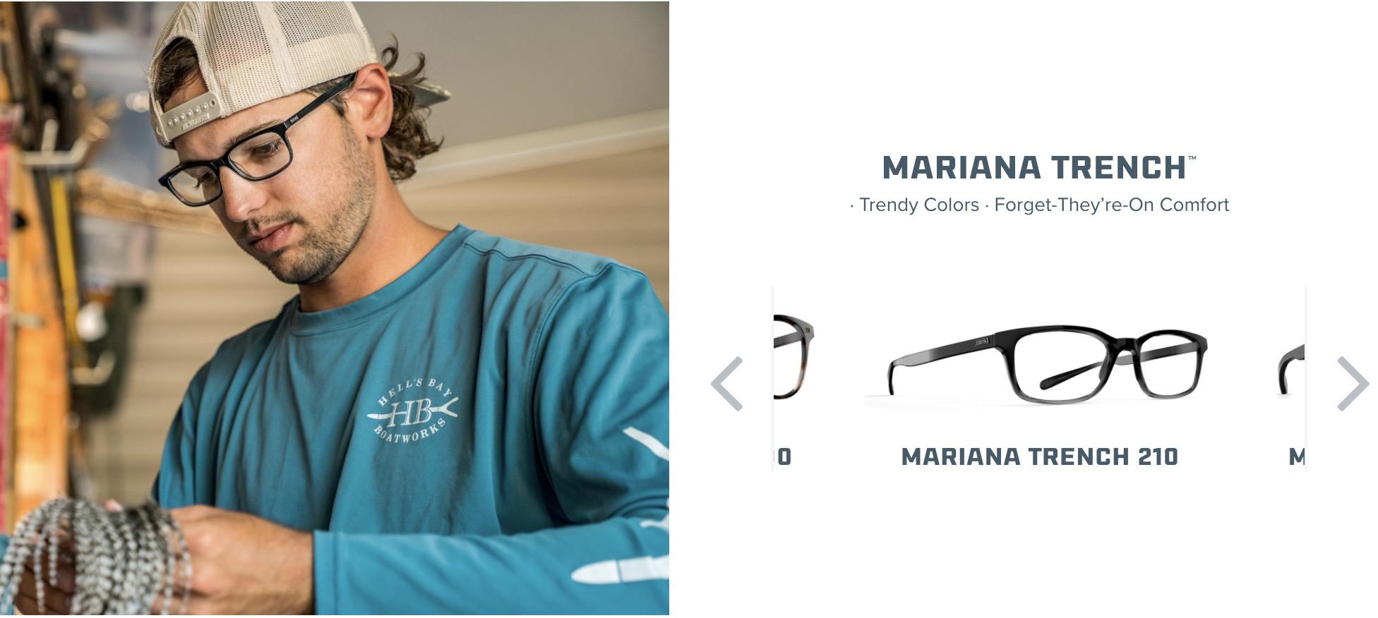 Costa Mariana Trench Glasses