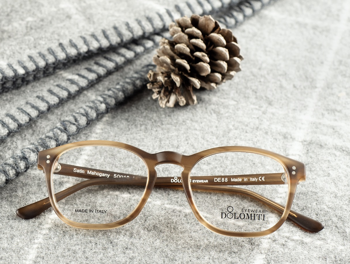 Italian Hand-Made Hypoallergenic Glasses by Dolomiti